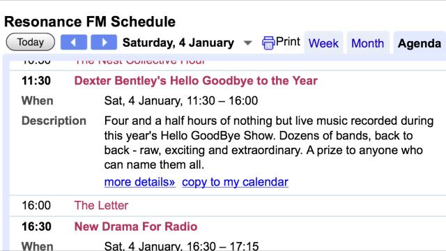 deXter Bentley's Hello GoodBye to 2013